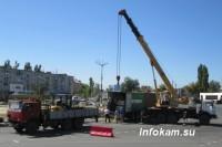 В Камышин доставили гранитные плиты для памятника