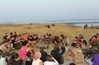 Казачья смена завершилась в православном лагере