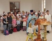 Молебен перед началом учебного года в станице Нижний Чир