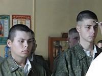 Под Волгоградом солдат окрестили на армейском полигоне