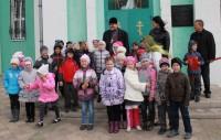 Первоклассники посетили храм