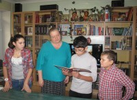 Осенние каникулы в православной библиотеке