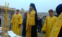 Епископ Елисей благословил строительство храма