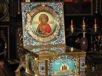 В Камышин прибыли мощи Святого князя Владимира