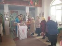 Литургия в Покровском храме х. Калмыков