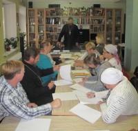 Совещание директоров воскресных школ