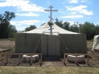 Полевой храм в честь иконы Божией Матери «Донская»