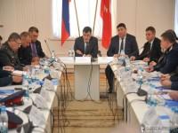Встреча губернатора с активом казачьих обществ