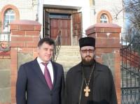 Губернатор посетил храм в Калаче-на-Дону