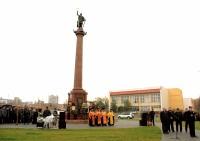 Димитрию Солунскому установили памятник