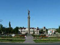 Открытие и освящение памятника Димитрию Солунскому