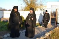 Посещение епископом Иоанном мужского монастыря