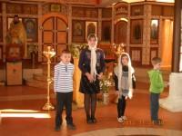 Празднование Дня матери в храме