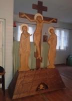В храм Алексия Мечёва доставлен крест