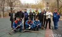 Спортивная площадка для православного приюта