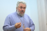 Состоялась встреча с протоиереем Вячеславом Жебелевым