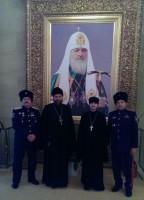 Делегация Калачёвской епархии на казачьих духовников