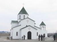 Храм Георгия Победоносца в посёлке Царицын