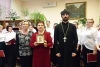 Камышане послушали хор Свято-Никольского храма