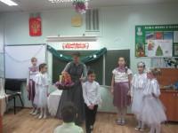 Рождественский вертеп в гимназии № 1