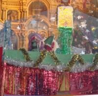 Вертепный театр на Рождество