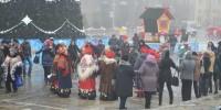 «Рождественский хоровод» на главной площади