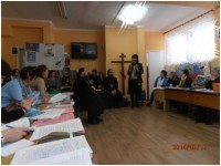 Участие в епархиальном собрании