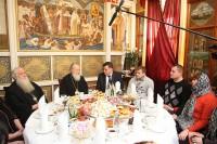 Патриарх Московский и Всея Руси Кирилл встретился с семьями погибших при теракте на вокзале