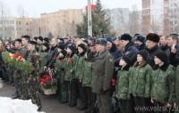 Митинг и лития у памятника воинам-интернационалистам