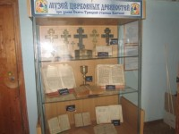 Музей при храме в станице Клетской