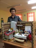 Презентация макета русской избы