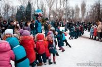 «Широкая Масленица» в городском парке