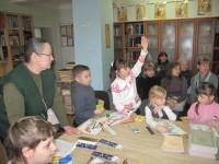 Первокласники в гостях у Городской православной библиотеки
