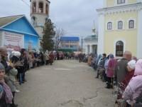Праздничная служба в Камышине
