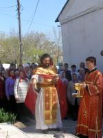 Божественная литургия в станице Усть-Медведицкой