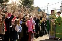 13 апреля — Вербное Воскресенье