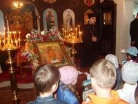 Дошкольники в гостях у храма Новомучеников