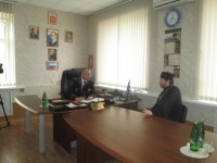 Встреча с генерал-лейтенантом А.Н. Кравченко