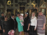 Праздник cвятых Жён-Мироносиц в Покровском храме