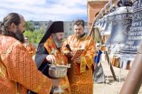 В храме святителя Луки освятили большую звонницу