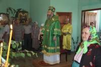 Архиерейское богослужение в с. Александровка