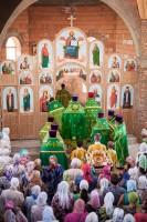 Первая литургия в храме святителя Луки
