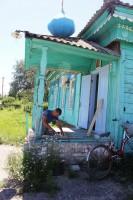 Богослужение в хуторе Большой Лычак