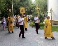 В Волгограде день Петра и Февронии отметили праздничной литургией