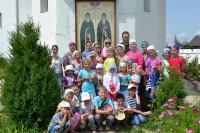Юные паломники мужской монастырь