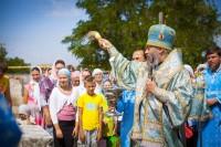 Престольный праздник храма в с. Верхнепогромное