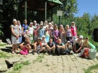 Воскресная школа «Вдохновение» посетила мужской монастырь
