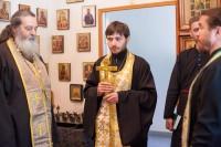 Освящение областного перинатального центра г. Волжского