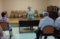 Встреча с краеведом Т.А.Башлыковой в Обществе слепых