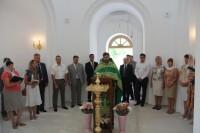 Молебен в храме Димитрия Донского